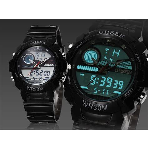 Ohsen Waterproof Digital Sport Ad1509 1 ohsen waterproof quartz digital sport ad1008 1 black jakartanotebook