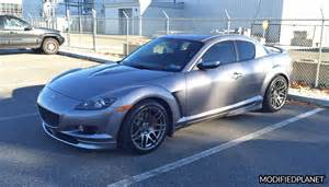 Madza Rx8 2004 Mazda Rx8 With 18x11 Forgestar F14 Wheels