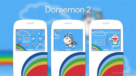 doraemon themes for nokia c2 doraemon 2 theme c3 00 x2 01 205 210 200 201 302