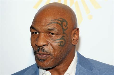 mike tyson tattoo meaning gets mike tyson henna ends up with