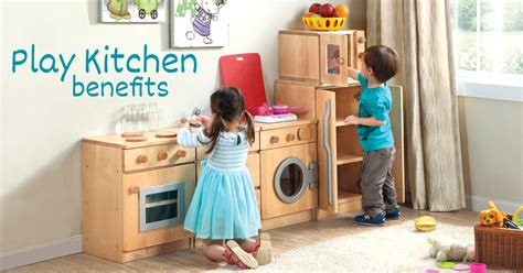 play kitchen benefits  children