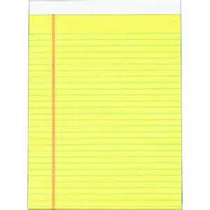 yellow pad template staples advantage 683254 pad 8 1 2 quot x 11 quot yellow at