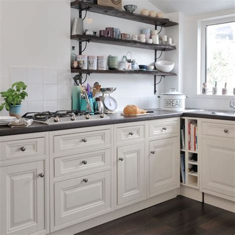 shelves for kitchen open shelving country kitchen ideas housetohome co uk