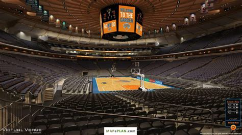 msg section 101 madison square garden seating chart detailed seat