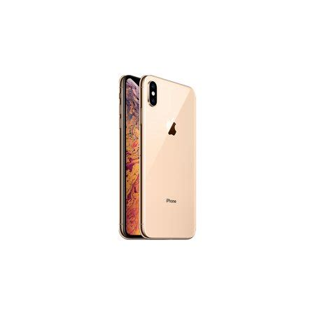 refurbished apple iphone xs max gb gold lte cellular