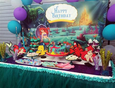 Ariel Table Decorations by 17 Best Ideas About Mermaid Centerpieces On The Sea Centerpieces
