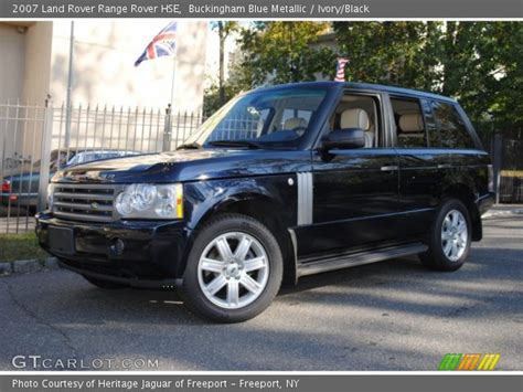 blue range rover interior buckingham blue metallic 2007 land rover range rover hse