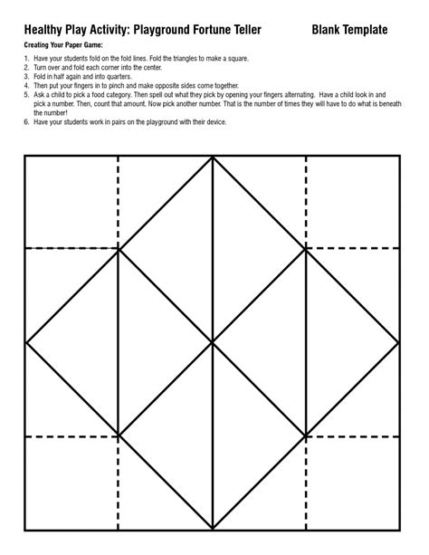 How To Make A Paper Origami Fortune Teller - origami filefortueller mgxsvg wikimedia mons fortune