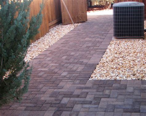 walkway pavers design ideas jen joes design how to install asphalt walkway pavers