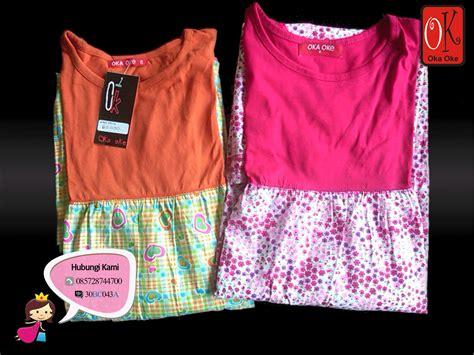 Oka Oke Reguler Model Baru baju gamis anak konveksi oka oke dengan model motif