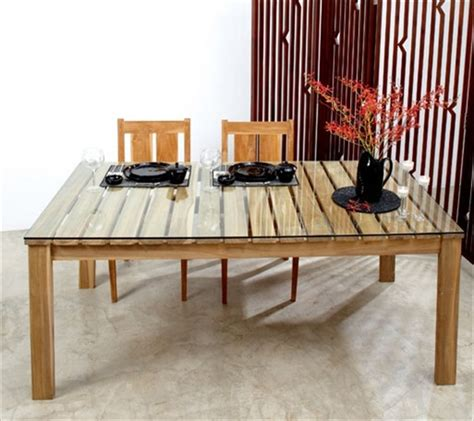 the recycled pallet dining table 16 ideas