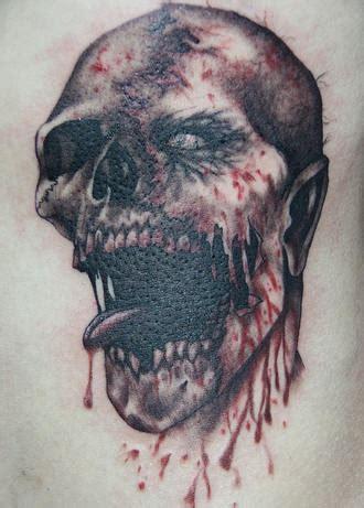 zombie tattoo on the hand tattooimages biz horrible zombie head tattoo tattooimages biz