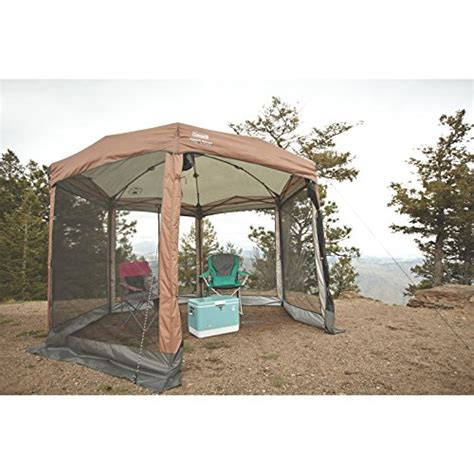 coleman screen room canopy coleman 12 x 10 instant screened canopy new ebay