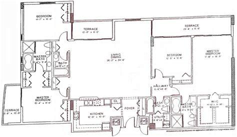 100 18 harbour street floor plans brickell ten