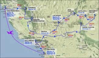 map de california usa mapas de estados unidos oeste viajando
