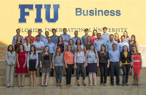 Florida International Mba Programs by Espm Students Attend Fiu Hosted International Business