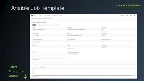 ansible template integrating ansible tower with security orchestration and
