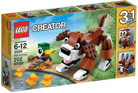 Set Hk 3in1 Ab 31044 zwierzęta w parku park animals klocki lego creator lego creator klocki lego lego