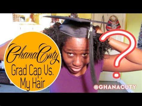black people hair caps 61 ghanacuty graduation cap vs natural hair dilemma
