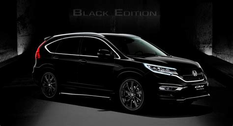 Karpet Crv Turbo 2017 honda cr v black edition unveiled at 2016 geneva motor show