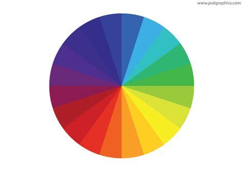 rainbow color wheel psd color wheel icon psdgraphics
