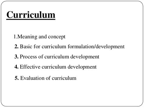 theme curriculum definition curriculum