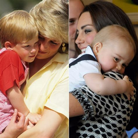princess diana s children princess diana and kate middleton with their kids pictures