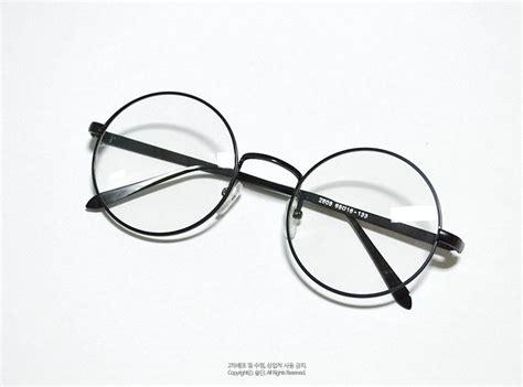 Kacamata Fashion Stainlees Tipis Rounded Bulat Korean Style wah ini nih kacamata yang kekinian di korea inikpop