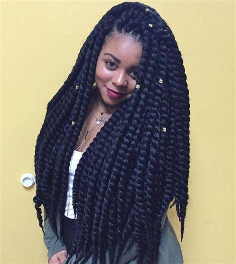 braiding thick hair 25 best ideas about long twist braids on pinterest