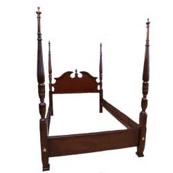 4 poster bed frame federal style four poster bed frame ebth