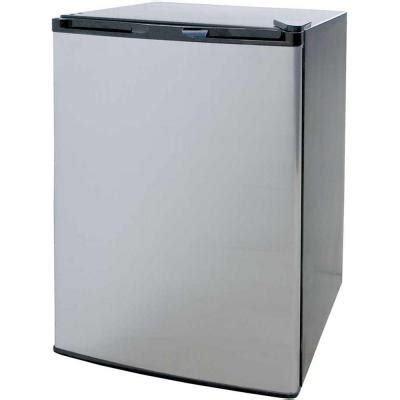 Cabinet For Mini Refrigerator by Cal 4 6 Cu Ft Mini Refrigerator In Stainless Steel