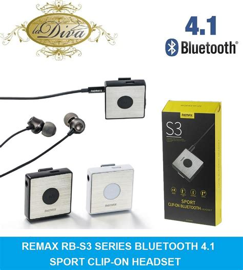 Jual Headsett Bluetooth Remax S3 Original remax rb s3 bluetooth 4 0 clip on s end 8 30 2017 12 15 am