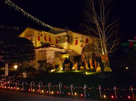 images of christmas lights in santa clarita best