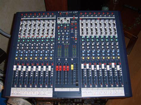 Mixer Lx7ii soundcraft lx7ii 16 image 171426 audiofanzine