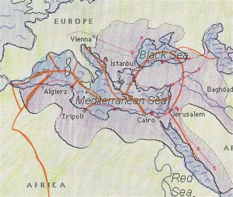 trade routes of the ottoman empire the ottoman empire home
