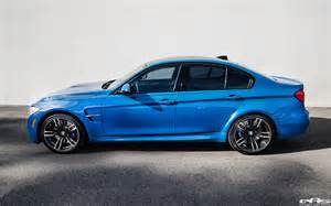 Blue Bmw M3 The Return Of The Laguna Seca Blue On A 2016 Bmw F80 M3