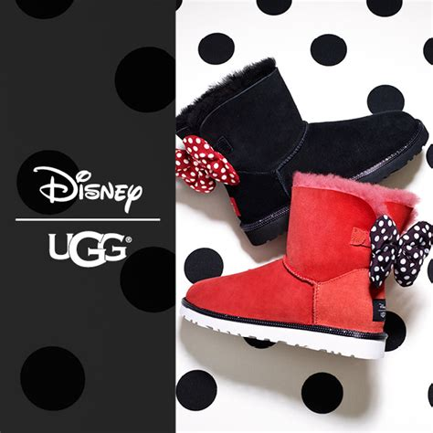 Boots Minnie Mouse By Kenmomshop ugg disney minnie mouse schuh