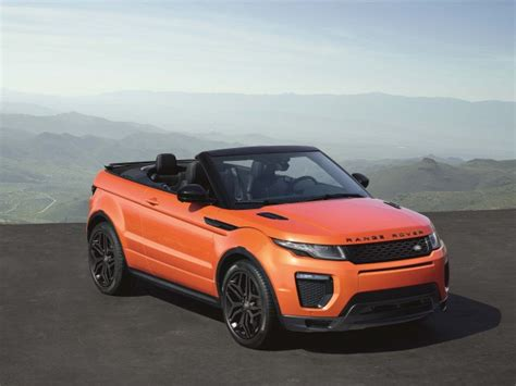 what carpany owns range rover range rover evoque convertible owns niche from q2 2016