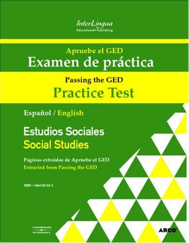 examen es de practica para el ged en espanol apruebe el ged examen de practica estudios sociales