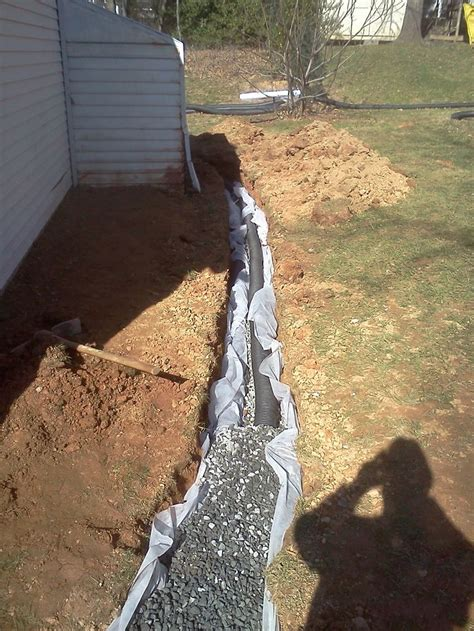 french drain backyard 1000 ideas about french drain on pinterest yard