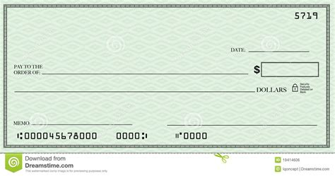 checks template blank check clipart