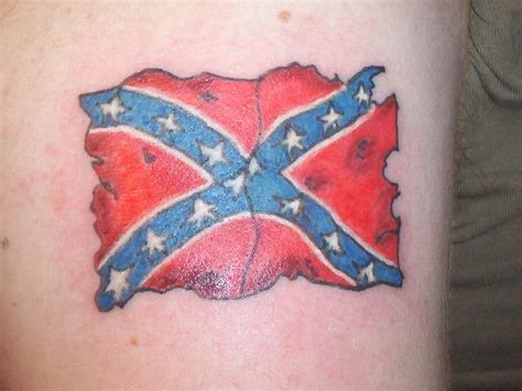 confederate flag tattoo designs tatterred rebel flag photos from k on