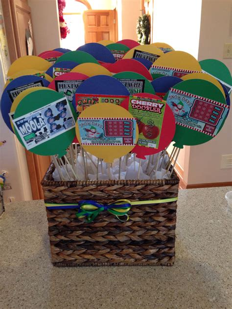 themed birthday gift baskets quot my dad s 60th birthday present 60 instant lottery