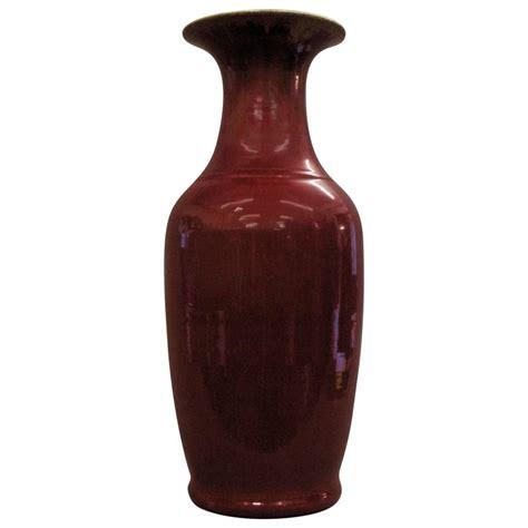 Sang De Boeuf Vase by Large Qing Dynasty Sang De Boeuf Vase For Sale At 1stdibs