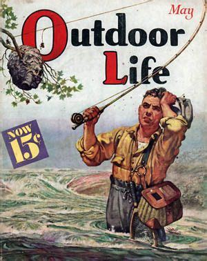 outdoor life outdoor life cover classic hunting and fishing art