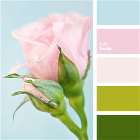 pale spring color palette green and pink color palette ideas