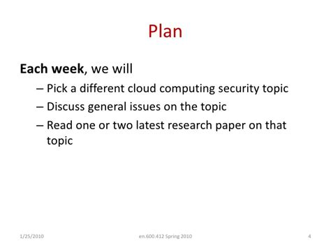 cloud computing security issues research papers lecture01 introduction to security and privacy in cloud