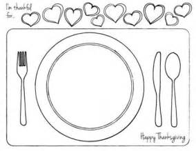 placemat template 5 best images of free printable thanksgiving placemats