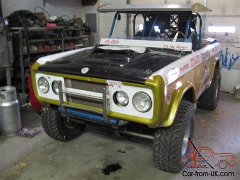 bronco trophy truck ford bronco trophy truck