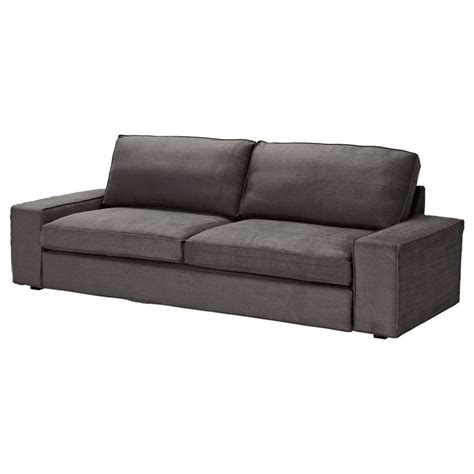 kivik sofa bed ten 246 light gray ikea basement